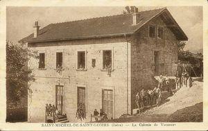 La salle des fête de St-Michel