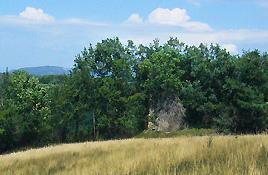 Ruines du château du Sublet - St-Geoirs près de St-Michel-de-St-Geoirs