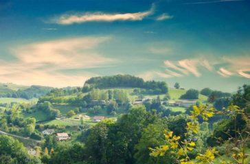 Paysage du Dauphiné - St-Michel-de-St-Geoirs - Isère