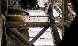 Au sommet du clocher, St-Michel-de-St-Geoirs