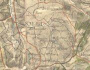 Carte d'État-Major - 1843 - St-Michel-de-la-Faim