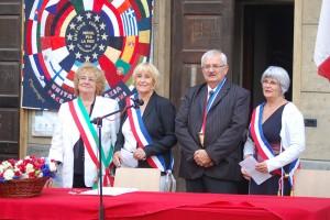 Jumelage à Casorate Sempione. St-Geoirs, St-Michel, St-Etienne