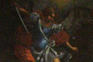 L'Archange Michel terrassant le Dragon.