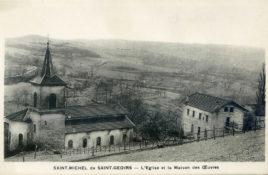 Cartes postales anciennes, St-Michel-de-St-Geoirs