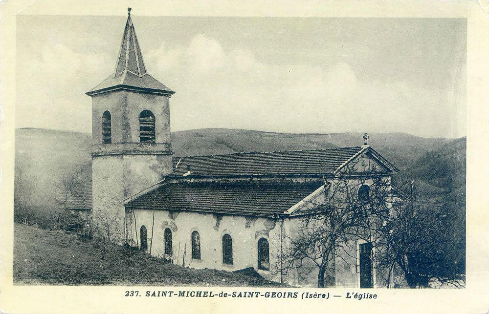 Église - St-Michel-de-St-Geoirs