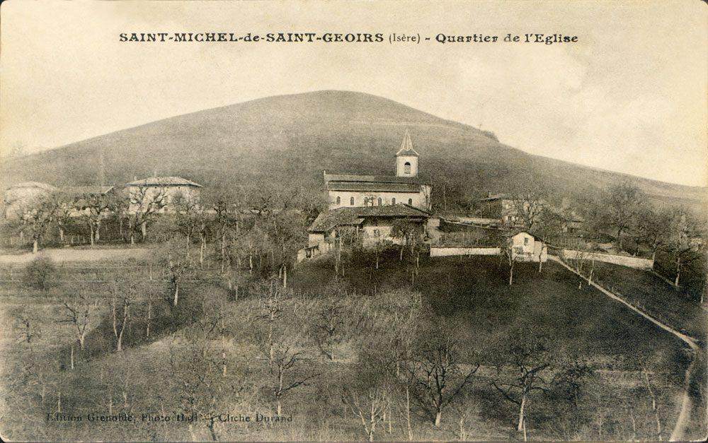 Carte postale St-Michel de St-Geoirs