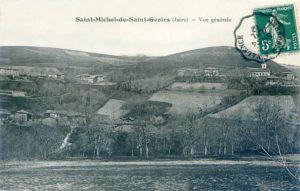 Carte postale ancienne de St-Michel-de-St-Geoirs, Isère