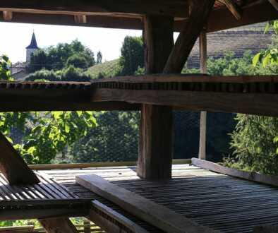 Séchoir à noix, St-Michel-de-St-Geoirs