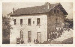 Carte postale, André Merle, St-Michel-de-St-Geoirs