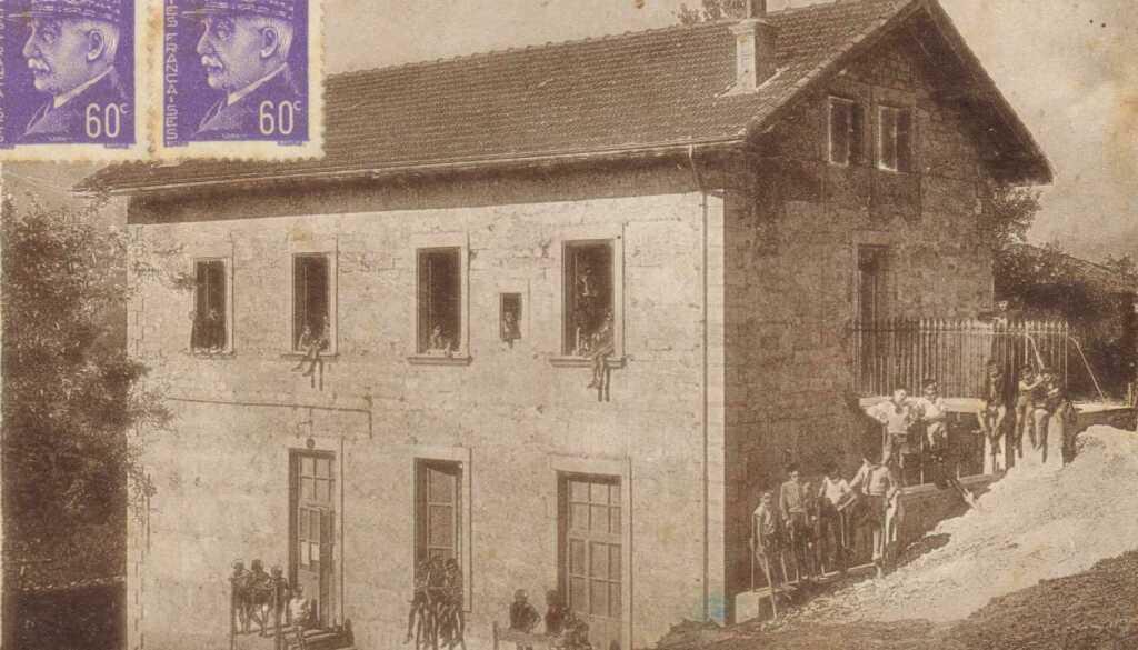 La Fraternelle - Carte postale, St-Michel-de-St-Geoirs