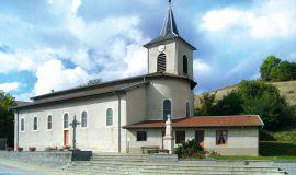 L'église et sa petite chapelle, St-Michel-de-St-Geoirs
