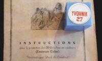 Yvonnik, Les projections de films fixes, St-Michel-de-St-Geoirs