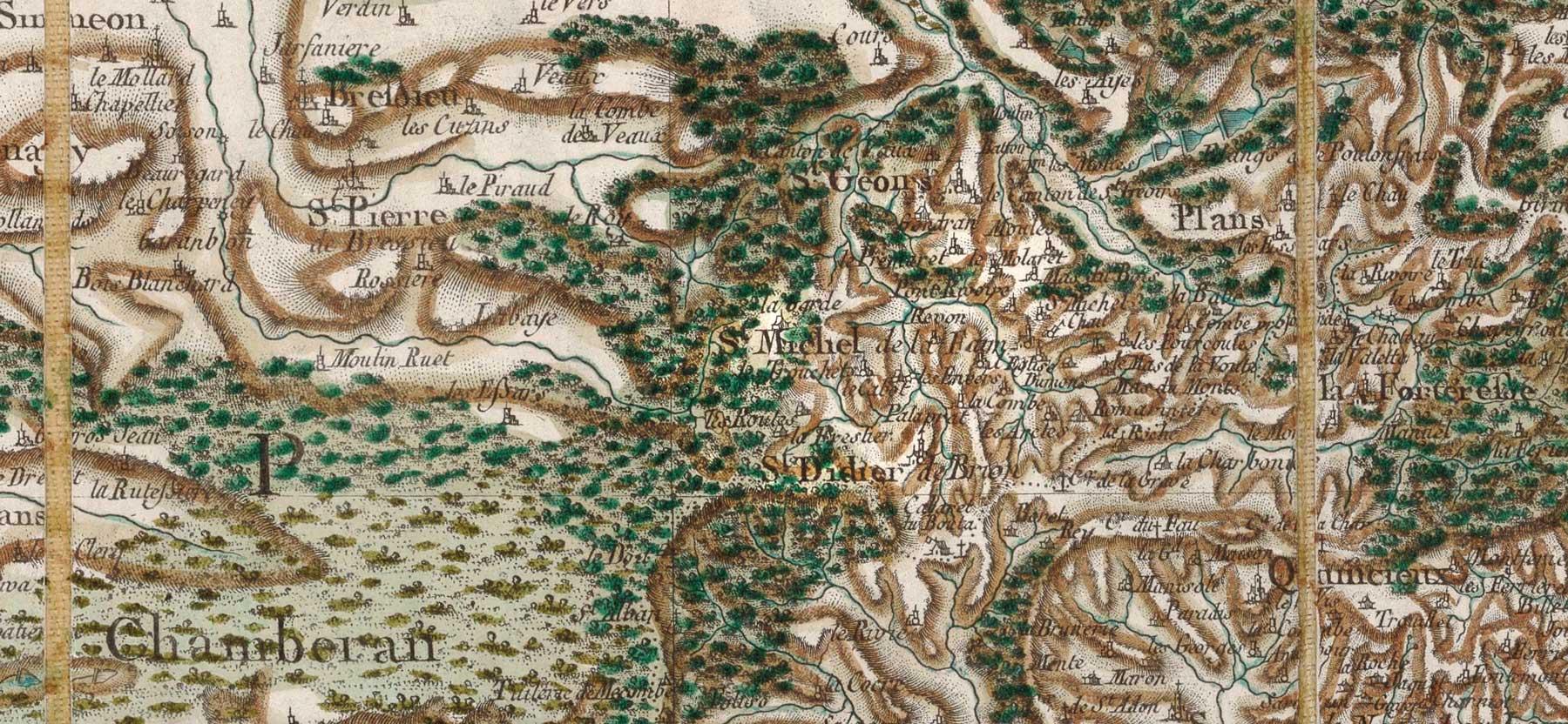 Histoire de la commune de Saint-Michel-de-Saint-Geoirs