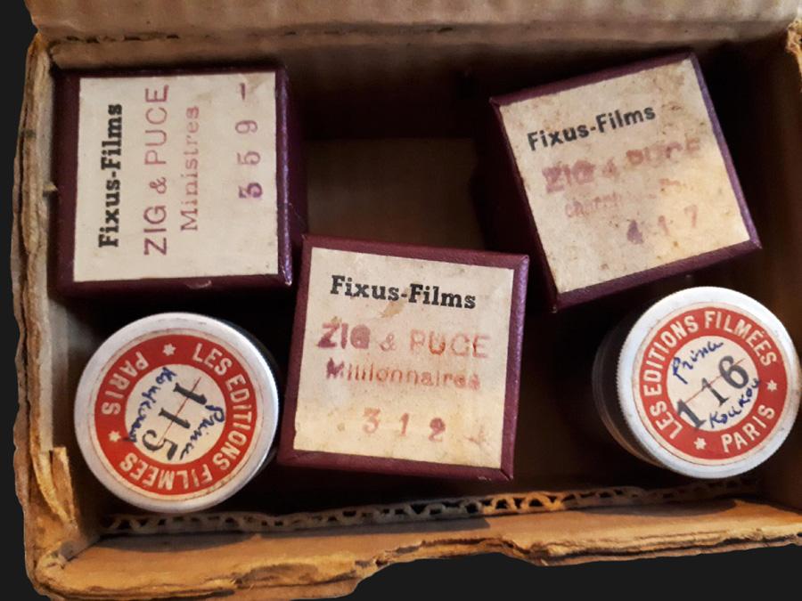 Zig et Puce, Fixus-Films - Les aventures du Prince Koukounor, Les Editions Filmées