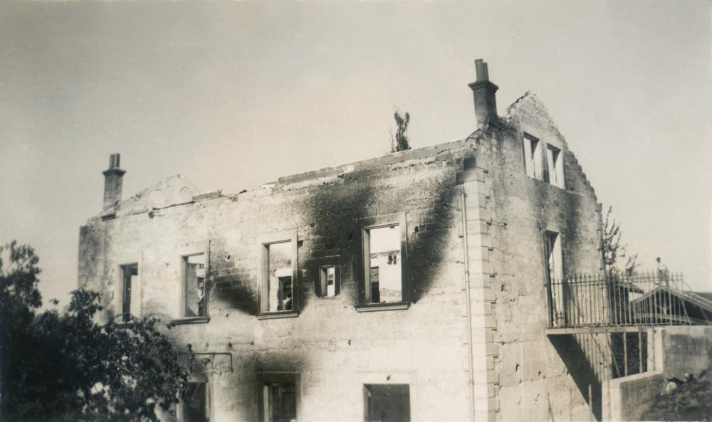séances récréatives Saint-Michel-de-Saint-Geoirs, juillet 1945