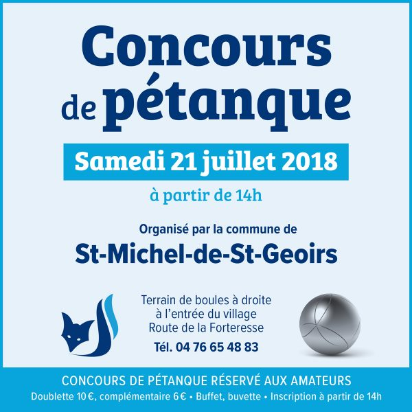 Saint-Michel-de-Saint-Geoirs - Samedi 21 juillet 2018