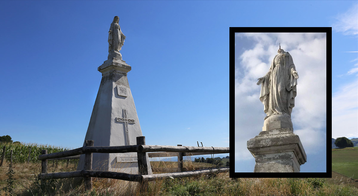 La Madone décapitée - St-Michel-de-St-Geoirs