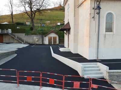 Accessibilité à l'église, , St-Michel-de-St-Geoirs