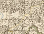 Détail de la Carte du Diocèse de Grenoble, 1741