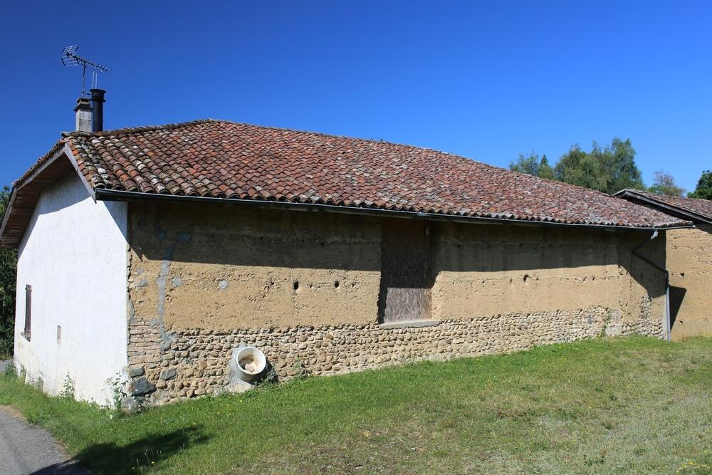 Maison en pisé - St-Michel-de-St-Geoirs